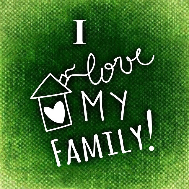 I live my family!