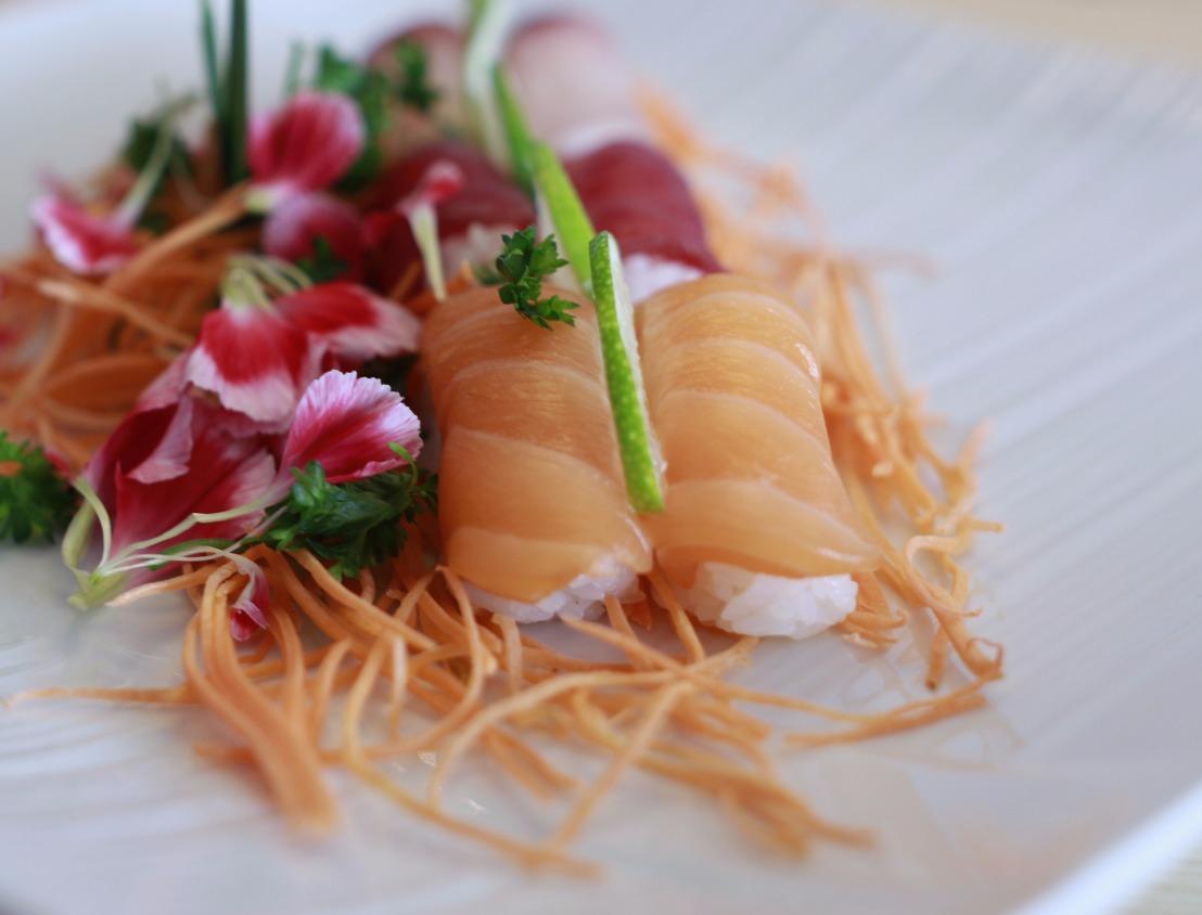 Nigiri sushi : Sake et Manguro
