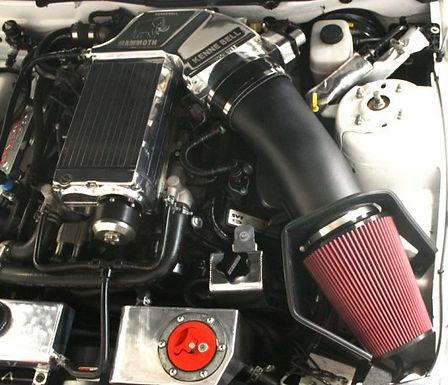 JLT SUPER BIG AIR INTAKE with Red Oiled Filter  (10-14 GT500)