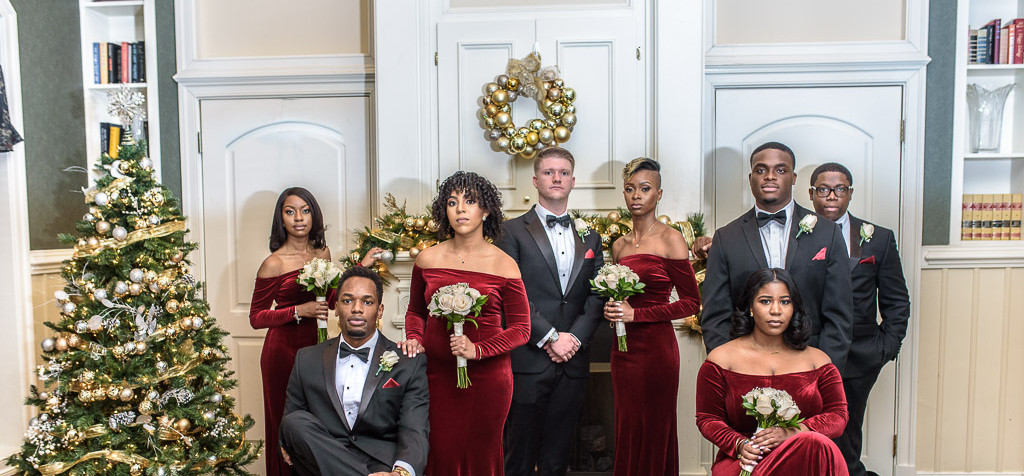 Nailah & James Wedding Party