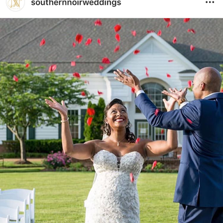 Southern Noire Wedding