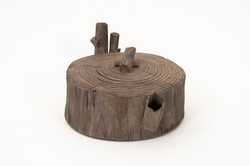 Wood Teapot #2