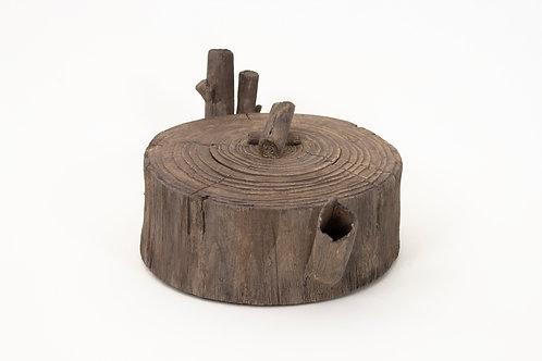 Wood Teapot #2 (non-functional)