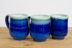 Mug Blue white