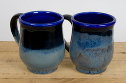 Mug Blue blacktop