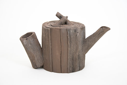 Wood Teapot #8 (non-functional)
