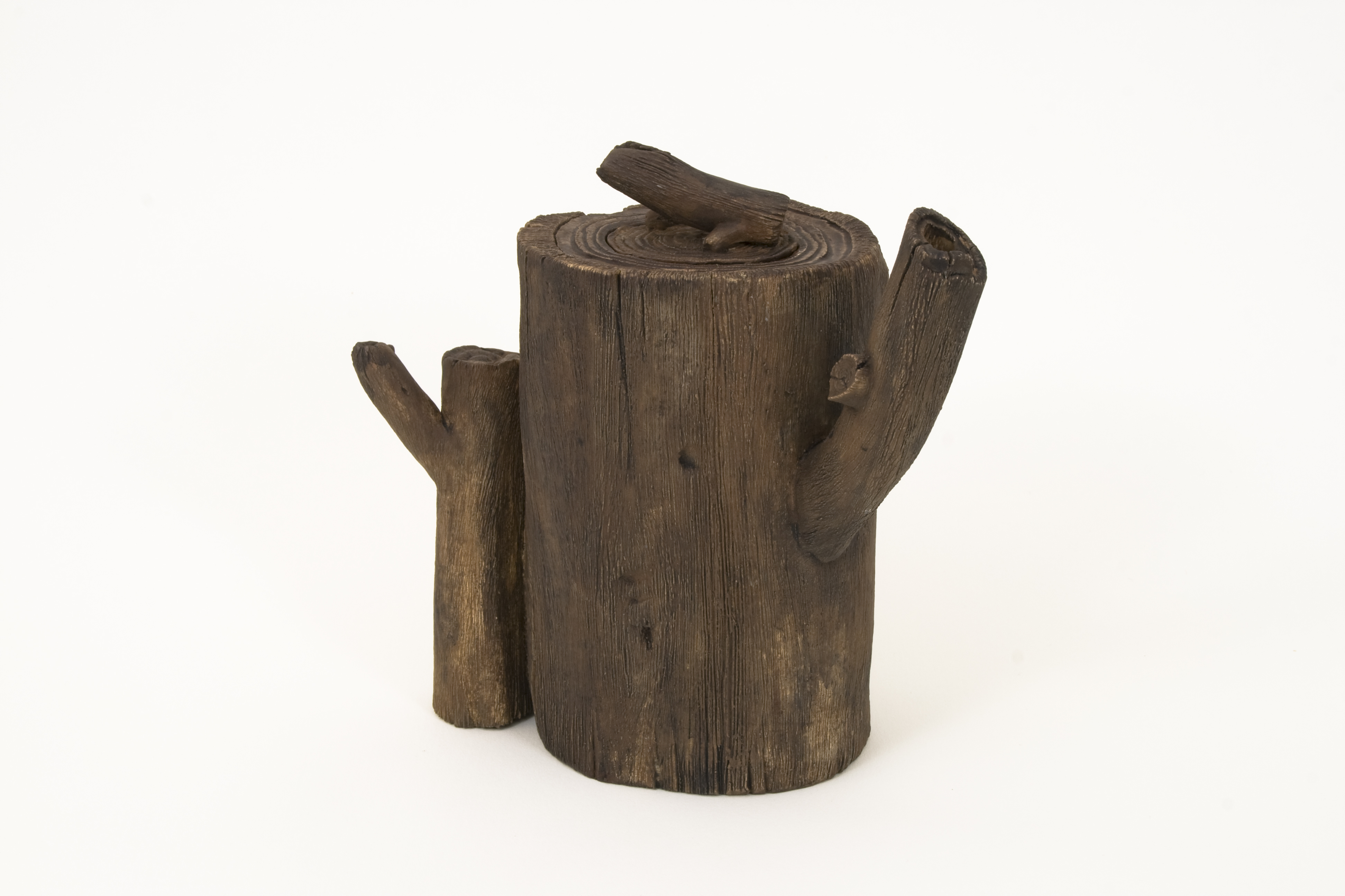 Wood Teapot #1