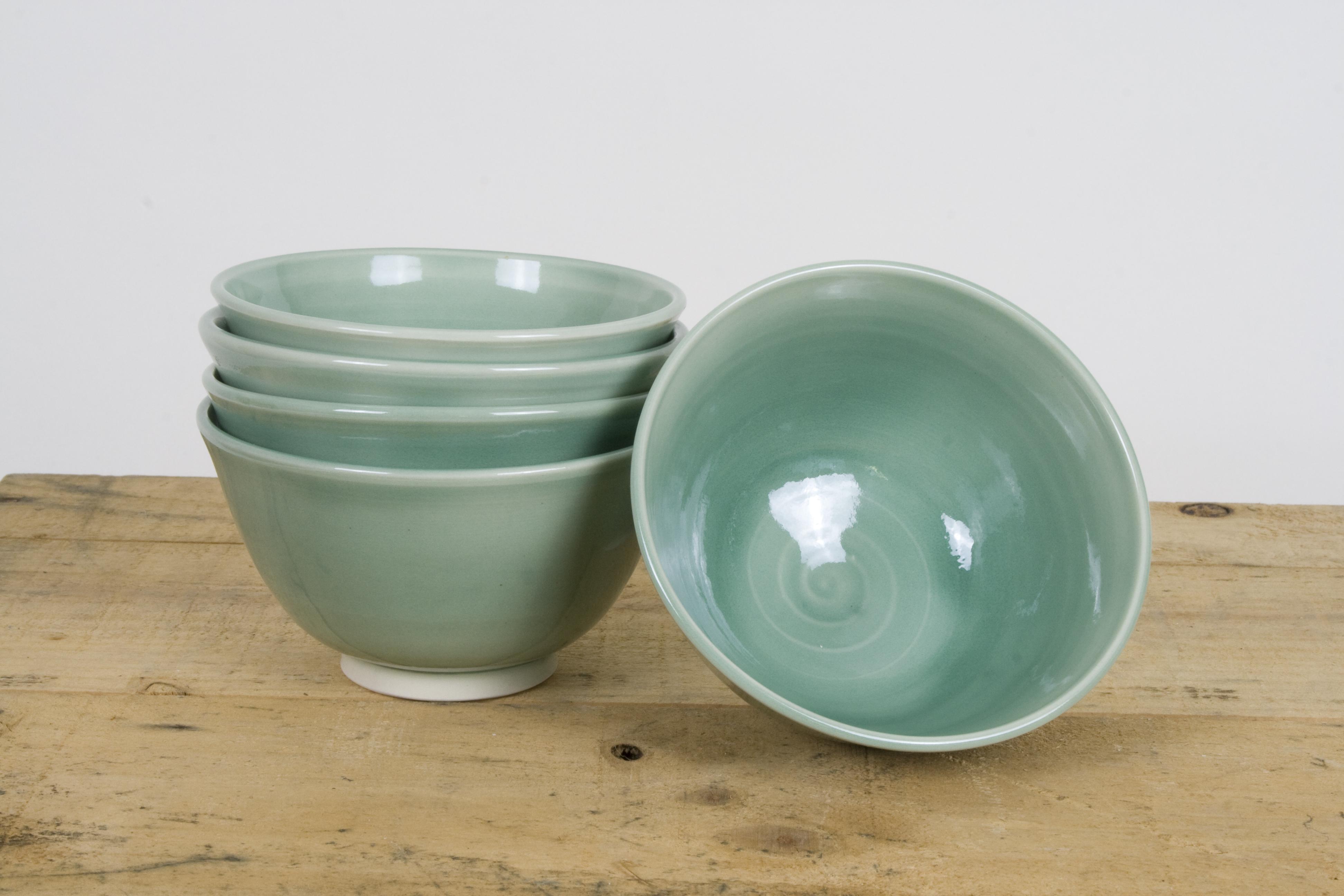 Celadon Tea Bowls