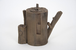 Wood Teapot #9