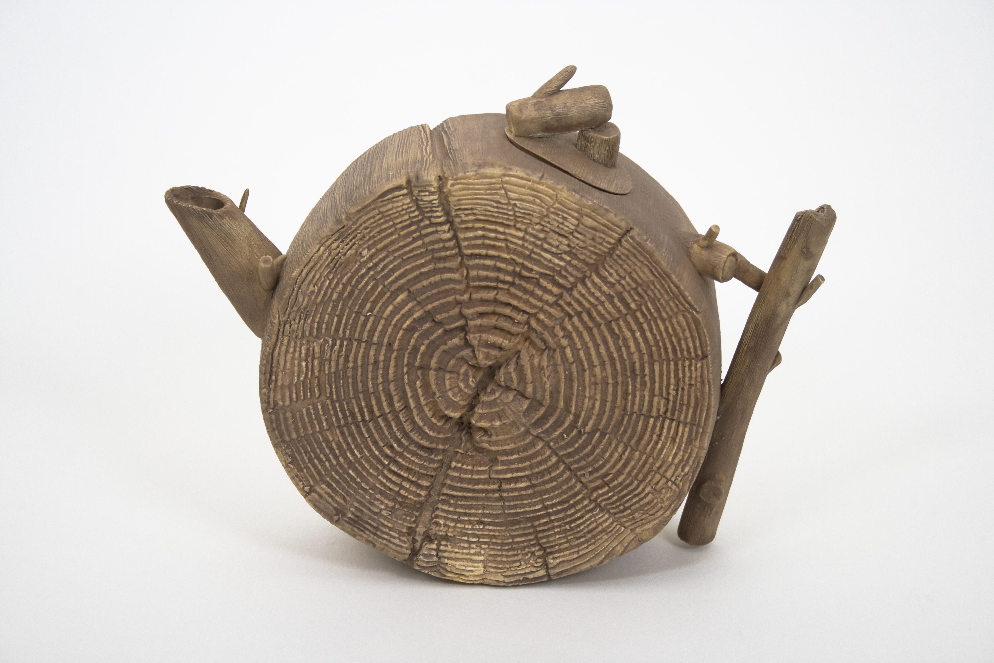 Wood Teapot #6