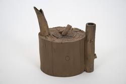 Wood Teapot #5