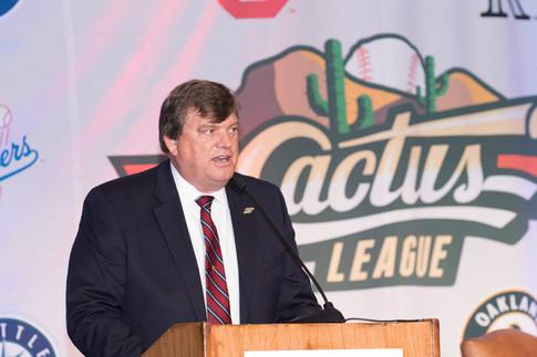 Cactus League President Jeff Meyer