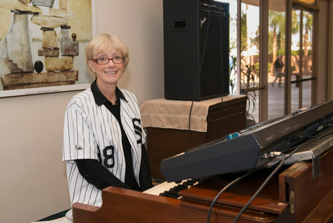 Longtime White Sox Organist Nancy Faust played