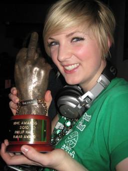 Andrea Fox NME Awards