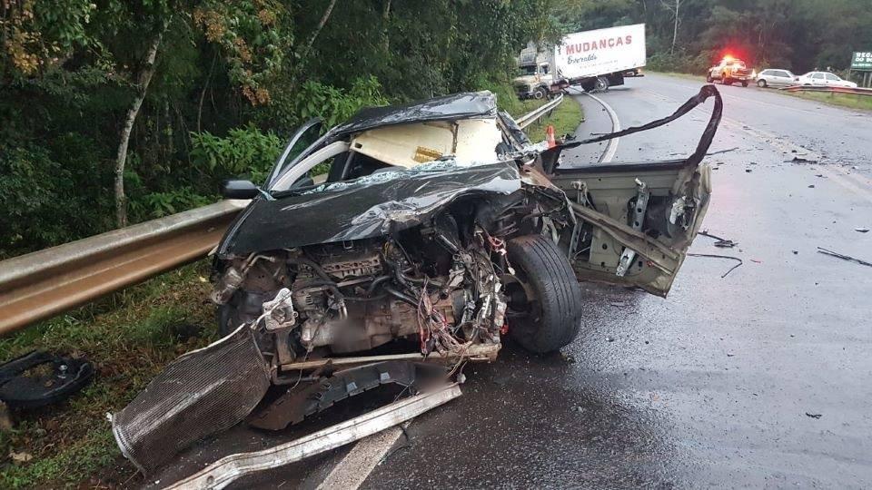Três acidentes em trecho de 5 km na rodovia PR 487