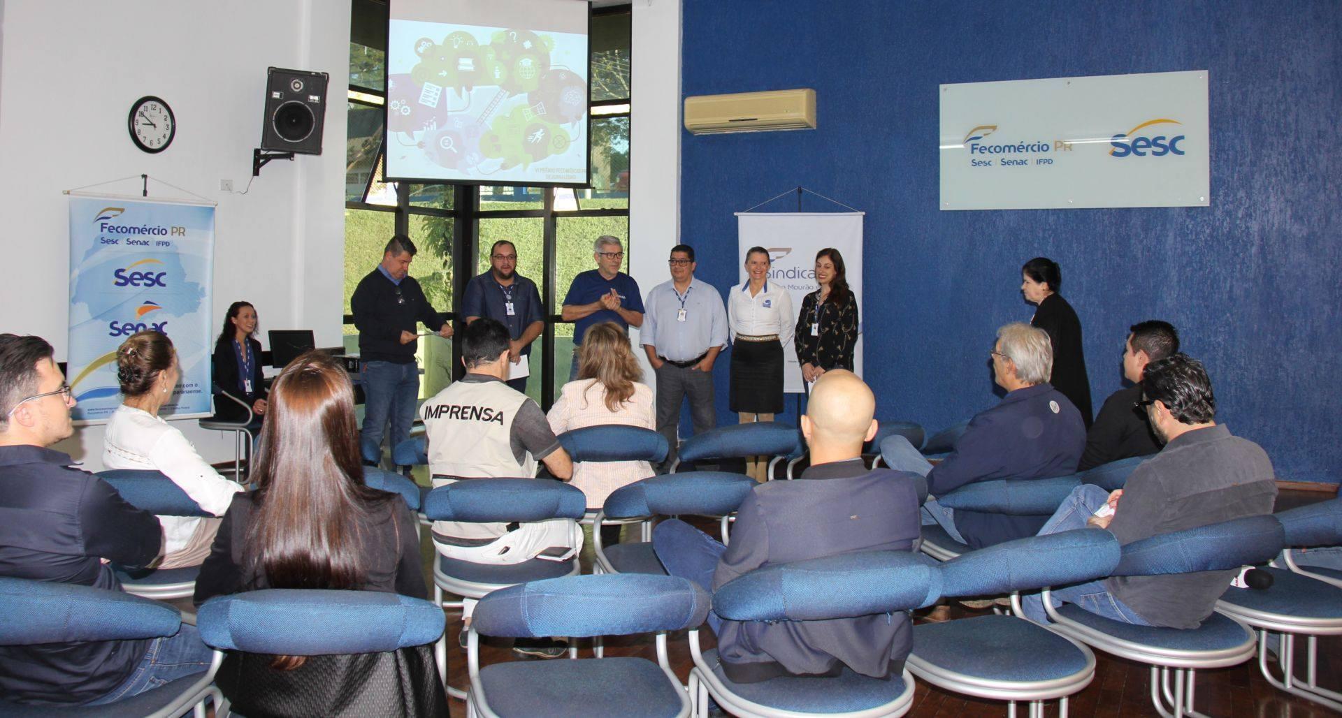 VI Prêmio Fecomércio de Jornalismo é apresentado à imprensa de CM