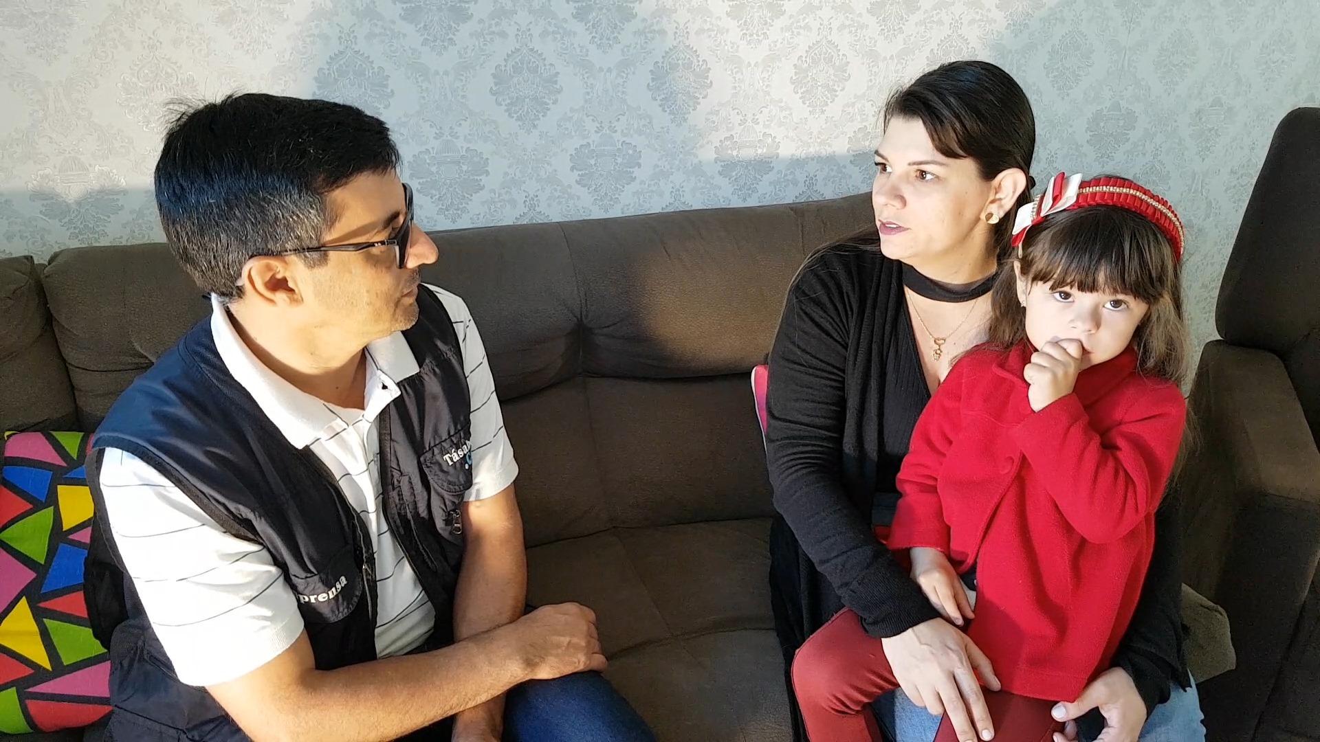 Mãe viveu drama com filha com cardiopatia congênita em CM
