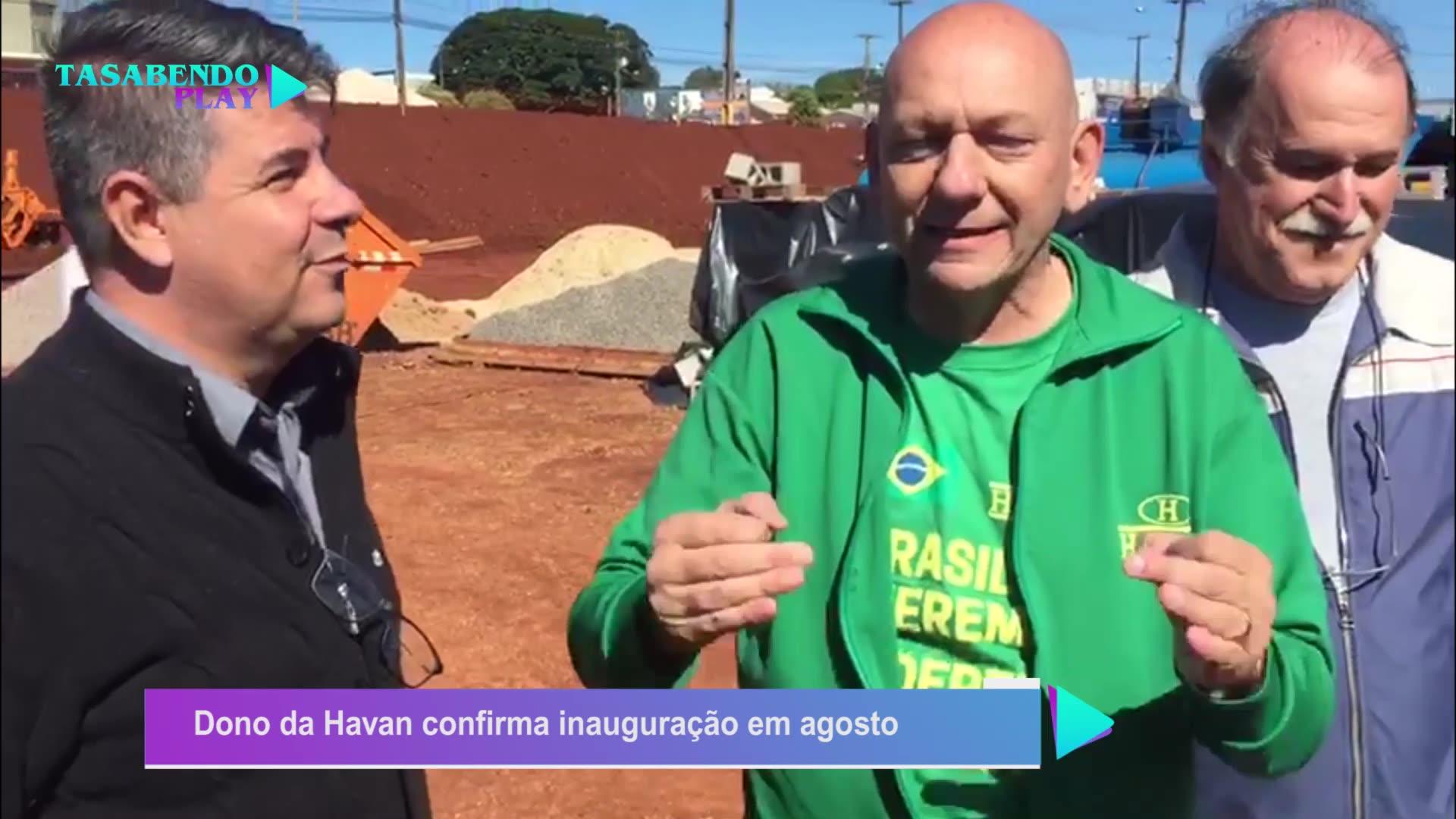 Dono da Havan visita Campo Mourão e confirma inauguração em agosto
