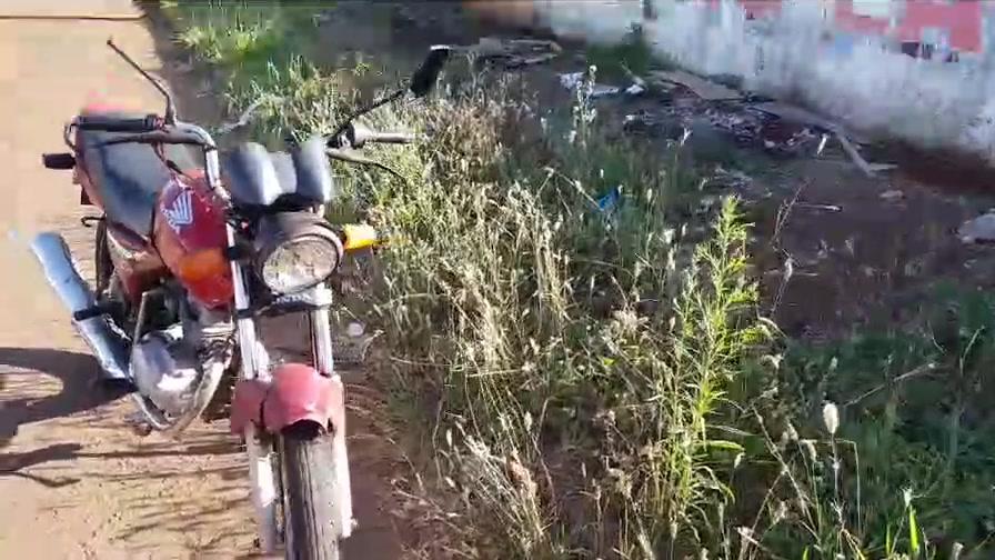 Mais um acidente envolvendo motocicleta em Campo Mourão