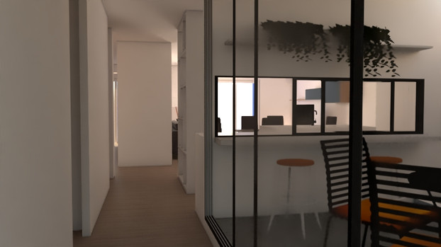3D proyecto inicial patio