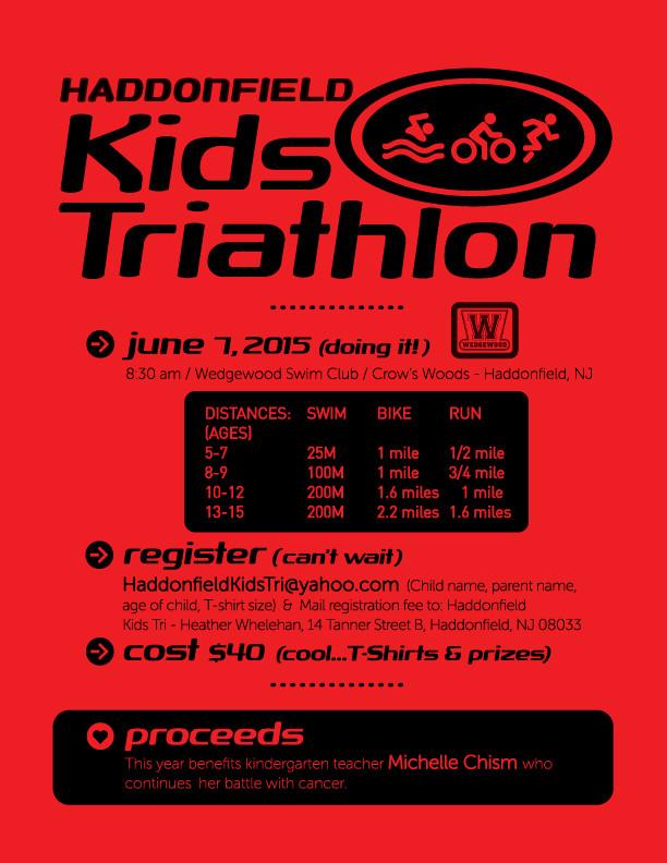 Kids Triathlon Flyer