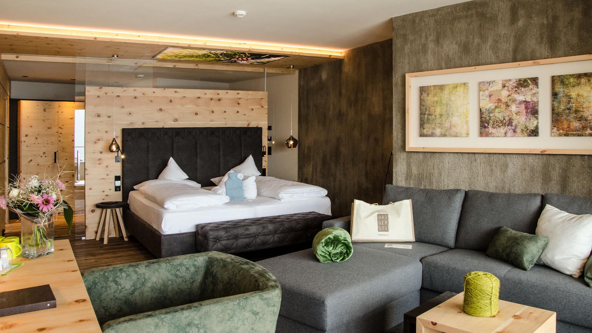 Zimmer - Hotel Das Gerstl