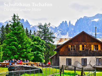 Postkarten Schutzhaus Tschafon