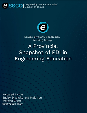 A Provincial Snapshot of EDI in Engineer