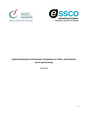 ESSCO-OSPE Tuition, Job Prospects, Coop.