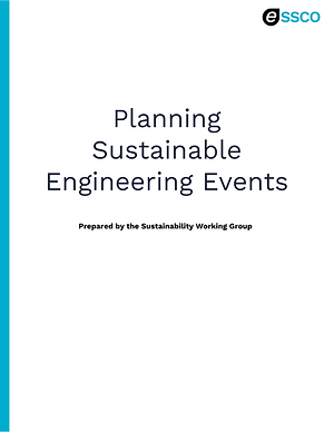 Planning Sustainable Engineering Events.