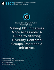 Making EDI Initiatives More Accessible.P