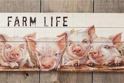 Farm Life - Sign