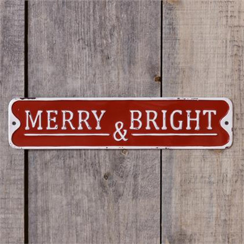 Merry & Bright - Sign