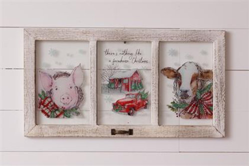 Window - Farmhouse Christmas