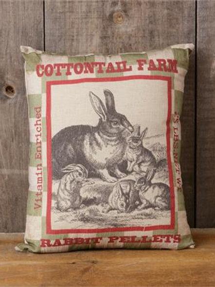 Cotton Tail Farm Pillow