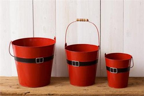 Santa's Belt Buckets