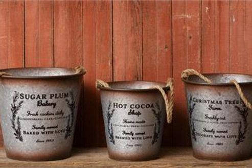 Buckets - Sugar Plum Bakery