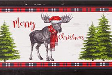 Merry Christmas Moose - Sign