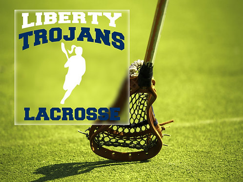 Girls Lacrosse Decal