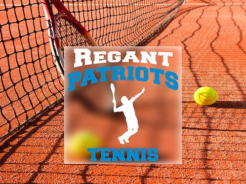 Boys Tennis Decal
