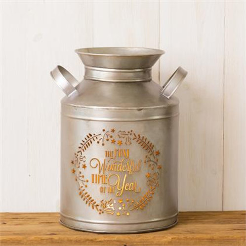 Milk Can - The Most Wonderful Time Of The Year