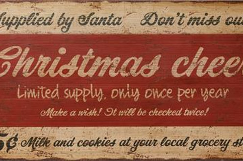 Christmas Cheer - Sign