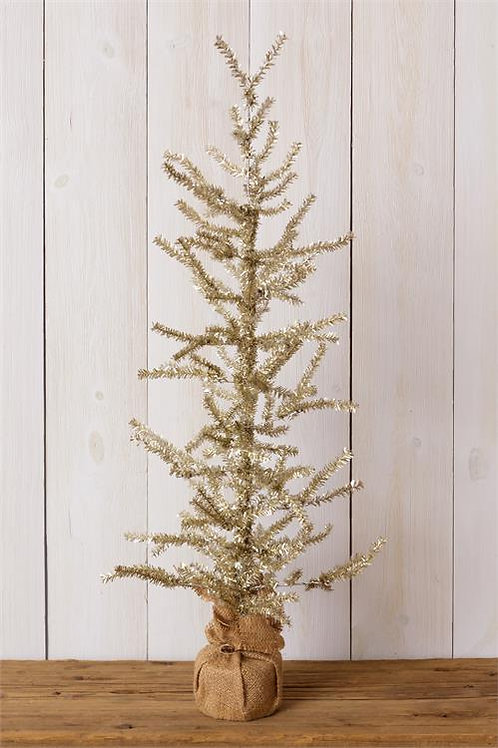 Gold Tree - Burlap Base
