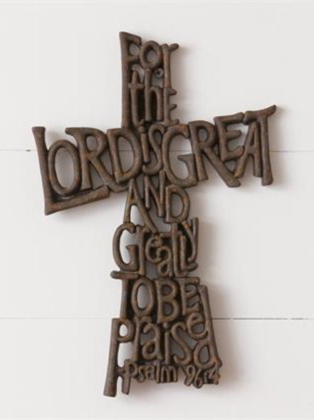 For the Lord is Great Cross