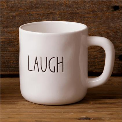 Ceramic Mug (2Pk) Laugh