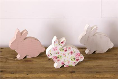 Bunny Table Sitters (3Pk)