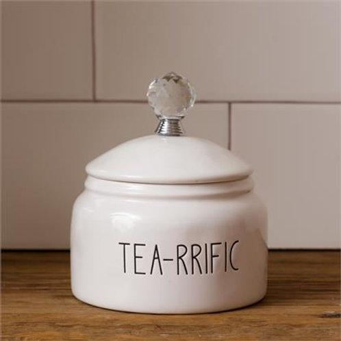 Tea-rrific Canister