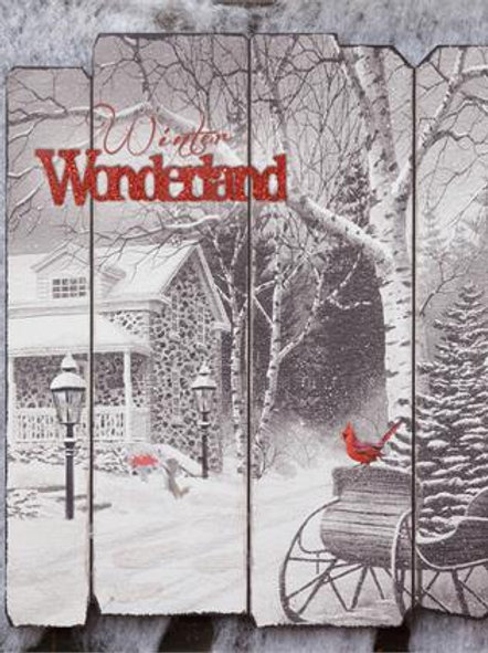 Winter Wonderland - Sign