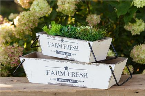 Farm Fresh Nesting Bins (2)