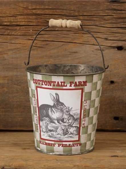 Cotton Tail Farm Bucket (2Pk)